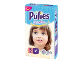 Подгузники Pufies Sensitive 5 (11-20 кг) 62 шт.