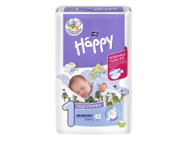 Подгузники Bella Baby Happy 1 (2-5 кг.) 42 шт.
