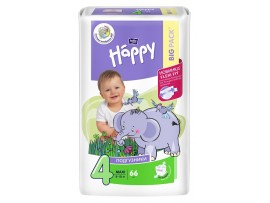 Подгузники Bella Baby Happy 4 (8-18 кг.) 66 шт.