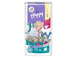 Подгузники Bella Baby Happy 6 (16+ кг.) 54 шт.
