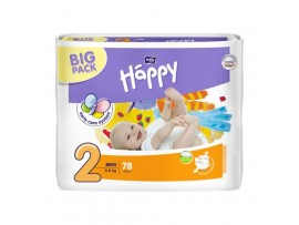 Подгузники Bella Baby Happy 2 (3-6 кг.) 78 шт.