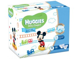 Подгузники Huggies Ultra Comfort Boy 4 (8-14кг), 126 шт.