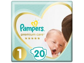 Подгузники Pampers Premium Care 1 (2-5 кг) 20 шт.