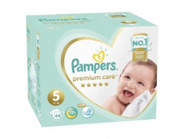 Подгузники Pampers Premium Care 5 (11+ кг) 64 шт.
