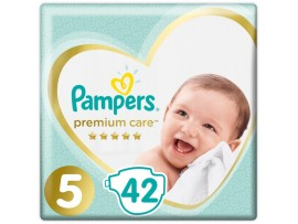 Подгузники Pampers Premium Care 5 (11+ кг) 42 шт.