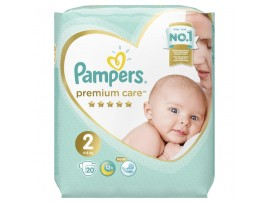Подгузники Pampers Premium Care 2 (4-8 кг) 20 шт.