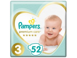 Подгузники Pampers Premium Care 3 (6-10 кг) 52 шт.
