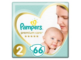 Подгузники Pampers Premium Care 2 (4-8 кг) 66 шт.