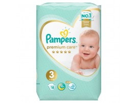 Подгузники Pampers Premium Care 3 (6-10 кг) 18 шт.