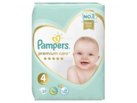 Подгузники Pampers Premium Care 4 (9-14 кг) 37 шт.