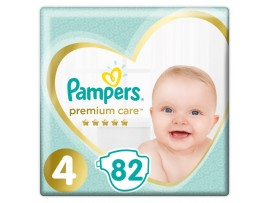 Подгузники Pampers Premium Care 4 (9-14 кг) 82 шт.