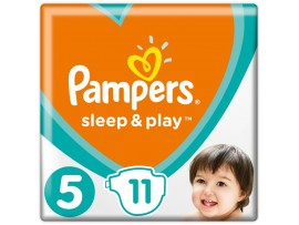 Подгузники Pampers Sleep&Play 5 Junior (11-18 кг), 11шт