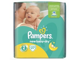 Подгузники Pampers New Baby Mini 2 (3-6 кг), 27шт