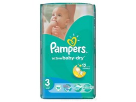 Подгузники Pampers Active Baby Midi 3 (4-9 кг), 10шт