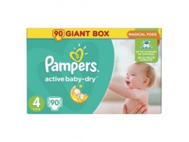 Подгузники Pampers Active Baby Maxi 4 (8-14 кг), 90шт