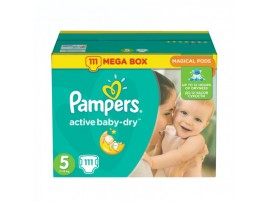 Подгузники Pampers Active Baby Junior 5 (11-18 кг), 111шт