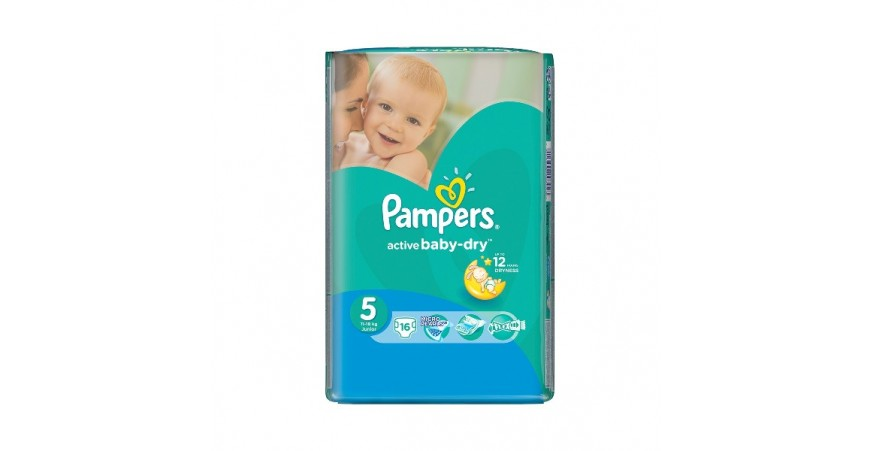 Подгузники Pampers Active Baby Junior 5 (11-18 кг), 16шт