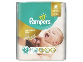 Подгузники Pampers Premium Care 2 (3-6 кг), 22шт