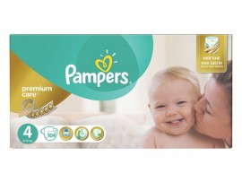 Подгузники Pampers premium care 4 Maxi (8-14 кг), 104шт
