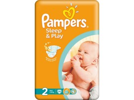 Подгузники Pampers Sleep&Play 2 Mini (3-6 кг), 68шт