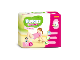 Трусики Huggies 6 Girl (16-22 кг), 30шт