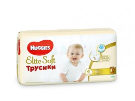Трусики Huggies Elite Soft 4 (9-14 кг), 42 шт.