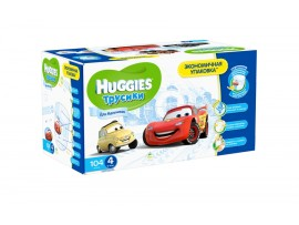 Трусики Huggies 4 Boy (9-14кг), 104 шт.