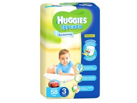 Трусики Huggies 3 Boy (7-11 кг), 58шт