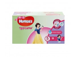 Трусики Huggies 5 Girl(13-17кг), 96 шт.